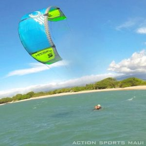 Body-drag exercise during the Discover kiteboarding lessons.